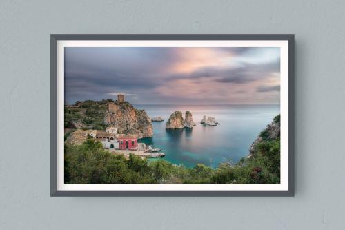 Francesco-Gola-Seascape-Photography-Landscape-Long-Exposure-Fine-Art-Print-Hahnemuhle-Home-Design-Europe-Italy-Sicily-Sicilia-Tonnara-Scopello