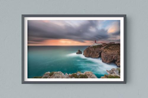 Francesco-Gola-Seascape-Photography-Landscape-Long-Exposure-Fine-Art-Print-Hahnemuhle-Home-Design-Europe-Portugal-Cabo-Sao-Veicente-Algarve-Lighthhouse